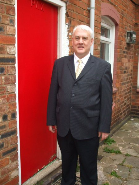 Me in suit 2009